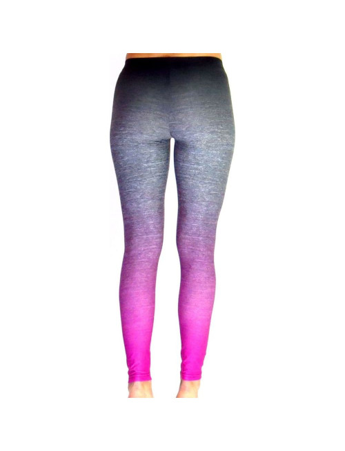 PLATINUM OMBRE CHARCOAL/ PINK LEGGINGS